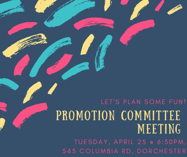 PromotionCommittee Meeting